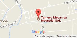 Mapa Tameco