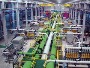 Cómo funciona una planta desalinizadora